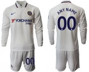 Wholesale Cheap Chelsea Personalized Away Long Sleeves Soccer Club Jersey