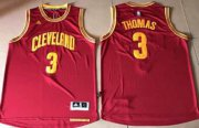 Wholesale Cheap Cleveland Cavaliers #3 Thomas Rose Red Road Stitched NBA Jersey