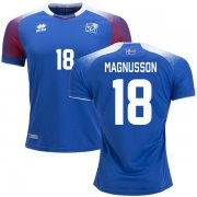 Wholesale Cheap Iceland #18 Magnusson Home Soccer Country Jersey
