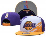 Wholesale Cheap 2021 NBA Los Angeles Lakers Hat GSMY322