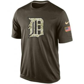 Wholesale Men\'s Detroit Tigers Salute To Service Nike Dri-FIT T-Shirt