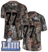 Wholesale Cheap Nike Rams #77 Andrew Whitworth Camo Super Bowl LIII Bound Men's Stitched NFL Limited Rush Realtree Jersey