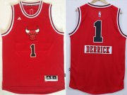 Wholesale Cheap Chicago Bulls #1 Derrick Rose Revolution 30 Swingman 2014 Christmas Day Red Jersey