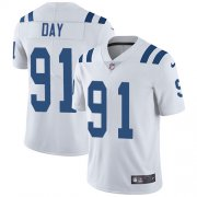 Wholesale Cheap Nike Colts #91 Sheldon Day White Youth Stitched NFL Vapor Untouchable Limited Jersey