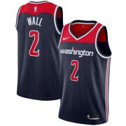 Wholesale Cheap Nike Washington Wizards #2 John Wall Navy Blue NBA Swingman Statement Edition Jersey