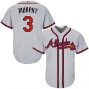 Wholesale Cheap Braves #3 Dale Murphy Grey Cool Base Stitched Youth MLB Jersey