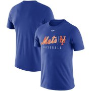 Wholesale Cheap New York Mets Nike MLB Practice T-Shirt Royal