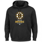 Wholesale Cheap Boston Bruins Majsetic Critical Victory VIII Pullover Hoodie Black