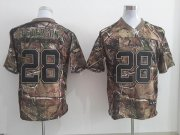 Wholesale Cheap Nike Vikings #28 Adrian Peterson Camo Men's Stitched NFL Realtree Elite Jersey