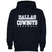 Wholesale Cheap Dallas Cowboys Practice Graphic Pullover Hoodie Navy Blue