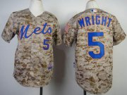 Wholesale Cheap Mets #5 David Wright Camo Alternate Cool Base Stitched Youth MLB Jersey