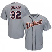 Wholesale Cheap Tigers #32 Michael Fulmer Grey Cool Base Stitched Youth MLB Jersey