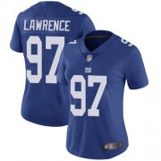 Wholesale Cheap Nike Giants #97 Dexter Lawrence Royal Blue Team Color Women's Stitched NFL Vapor Untouchable Limited Jersey