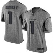 Wholesale Cheap Nike Cardinals #1 Kyler Murray Gray Men's Stitched NFL Limited Gridiron Gray Jersey