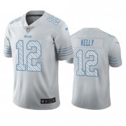 Wholesale Cheap Buffalo Bills #12 Jim Kelly White Vapor Limited City Edition NFL Jersey
