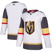 Wholesale Cheap Adidas Golden Knights Blank White Road Authentic Stitched Youth NHL Jersey