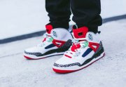 Wholesale Cheap Air Jordan 3.5 Retro Shoes White/red-black