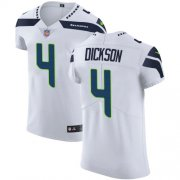 Wholesale Cheap Nike Seahawks #4 Michael Dickson White Men's Stitched NFL Vapor Untouchable Elite Jersey