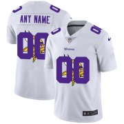 Wholesale Cheap Nike Minnesota Vikings Customized White Team Big Logo Vapor Untouchable Limited Jersey