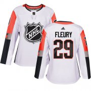 Wholesale Cheap Adidas Golden Knights #29 Marc-Andre Fleury White 2018 All-Star Pacific Division Authentic Women's Stitched NHL Jersey