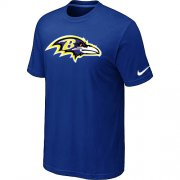 Wholesale Cheap Nike Baltimore Ravens Sideline Legend Authentic Logo Dri-FIT NFL T-Shirt Blue