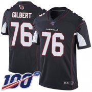 Wholesale Cheap Nike Cardinals #76 Marcus Gilbert Black Alternate Youth Stitched NFL 100th Season Vapor Untouchable Limited Jersey