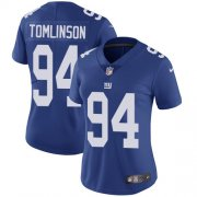 Wholesale Cheap Nike Giants #94 Dalvin Tomlinson Royal Blue Team Color Women's Stitched NFL Vapor Untouchable Limited Jersey
