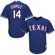 Wholesale Cheap Rangers #14 Carlos Gomez Blue Cool Base Stitched Youth MLB Jersey
