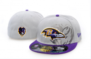 Wholesale Cheap Baltimore Ravens fitted hats 07