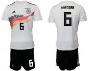 Wholesale Cheap Germany #6 Khedira White Home Soccer Country Jersey