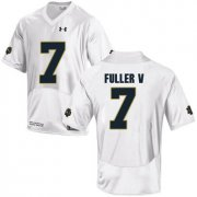 Wholesale Cheap Notre Dame Fighting Irish 7 Will Fuller V White College Football Jersey
