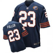 Wholesale Cheap Nike Bears #23 Kyle Fuller Navy Blue Throwback Men's Stitched NFL Elite Jersey