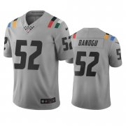 Wholesale Cheap Indianapolis Colts #52 Ben Banogu Gray Vapor Limited City Edition NFL Jersey