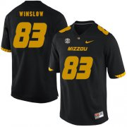 Wholesale Cheap Missouri Tigers 83 Kellen Winslow Black Nike College Football Jersey