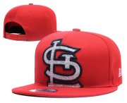 Wholesale Cheap MLB St. Louis Cardinals Snapback Ajustable Cap Hat 1