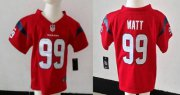Wholesale Cheap Toddler Nike Texans #99 J.J. Watt Red Alternate Stitched NFL Elite Jersey