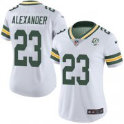 Wholesale Cheap Nike Packers #23 Jaire Alexander White Women's 100th Season Stitched NFL Vapor Untouchable Limited Jersey