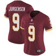 Wholesale Cheap Nike Redskins #9 Sonny Jurgensen Burgundy Red Team Color Women's Stitched NFL Vapor Untouchable Limited Jersey