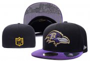 Wholesale Cheap Baltimore Ravens fitted hats 01