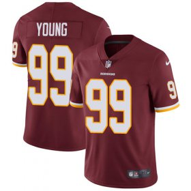 Wholesale Cheap Nike Redskins #99 Chase Young Burgundy Red Team Color Youth Stitched NFL Vapor Untouchable Limited Jersey