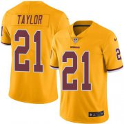 Wholesale Cheap Nike Redskins #21 Sean Taylor Gold Men's Stitched NFL Limited Rush Jersey