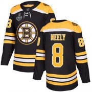 Wholesale Cheap Adidas Bruins #8 Cam Neely Black Home Authentic Stanley Cup Final Bound Stitched NHL Jersey