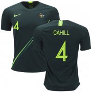 Wholesale Cheap Australia #4 Cahill Away Soccer Country Jersey