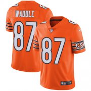 Wholesale Cheap Nike Bears #87 Tom Waddle Orange Men's Stitched NFL Limited Rush Jersey