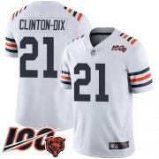 Wholesale Cheap Nike Bears #21 Ha Ha Clinton-Dix White Alternate Men's Stitched NFL Vapor Untouchable Limited 100th Season Jersey
