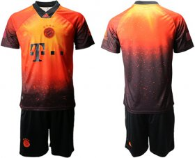 Wholesale Cheap Bayern Munchen Blank FIFA 19AD Memorial Edition Soccer Club Jersey