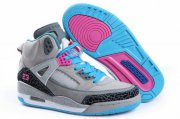 Wholesale Cheap Womens Jordan 3.5 Spizike Shoes Light gray/Blue/Pink