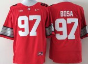 Wholesale Cheap Ohio State Buckeyes #97 Joey Bosa 2015 Playoff Rose Bowl Special Event Diamond Quest Red Jersey