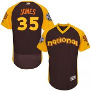 Wholesale Cheap Padres #35 Randy Jones Brown Flexbase Authentic Collection 2016 All-Star National League Stitched MLB Jersey