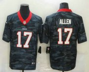 Wholesale Cheap Men's Buffalo Bills #17 Josh Allen 2020 Camo Limited Stitched Nike NFL Jersey